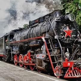 Tours to Karelia on retro steam train