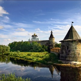 North-West part of Russia: Pskov