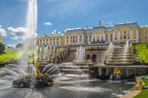 Cascade in Peterhof