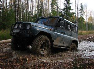 Jeep tour Russia