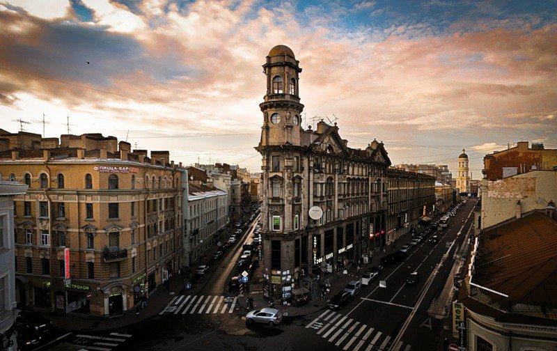 Rubinstein Street St Petersburg