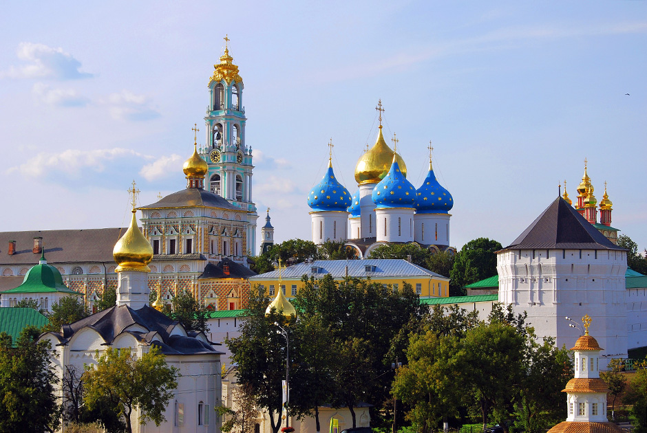 Architectural Ensemble of the Trinity Sergius Lavra