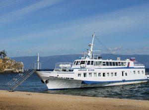 Baikal lake cruise