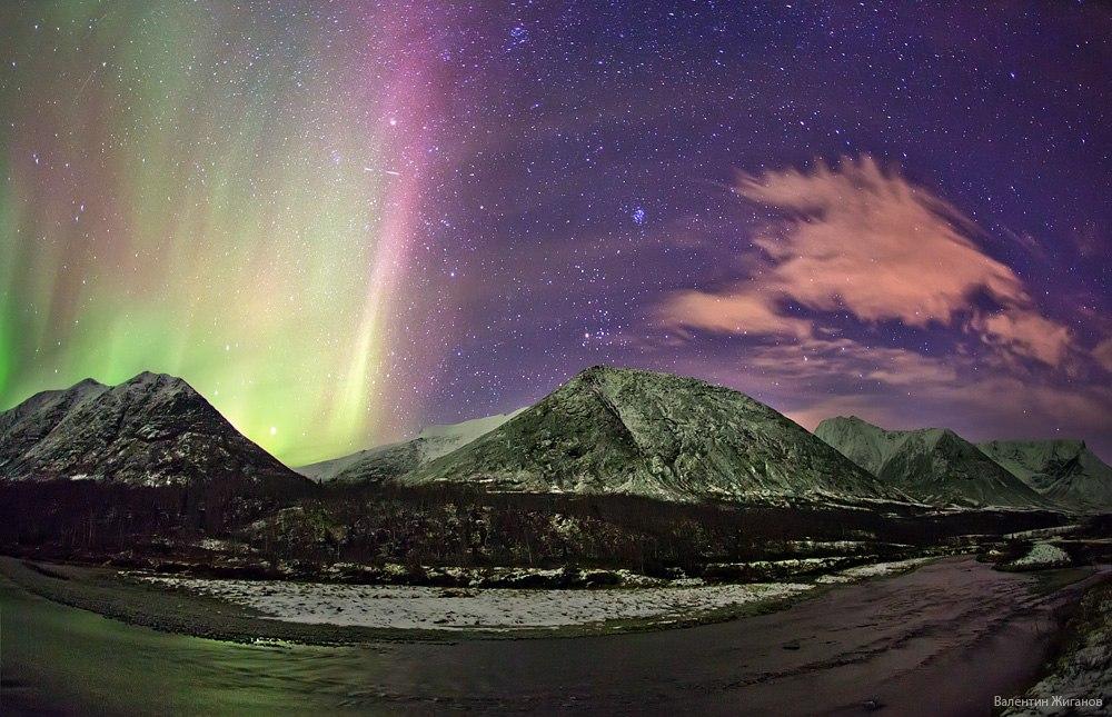 Aurora in Hibiny