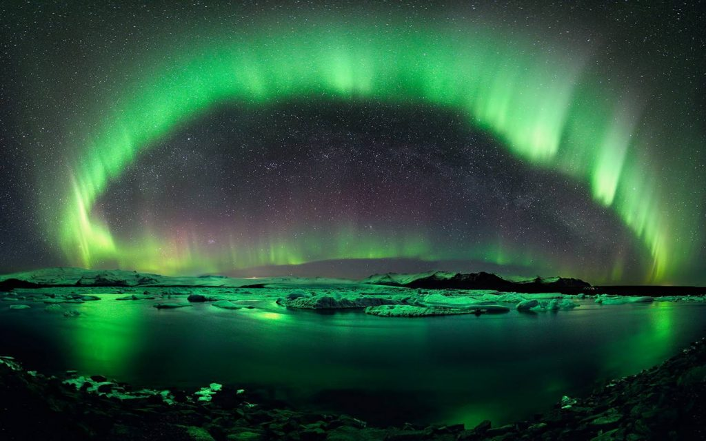 Aurora in Spitsbergen