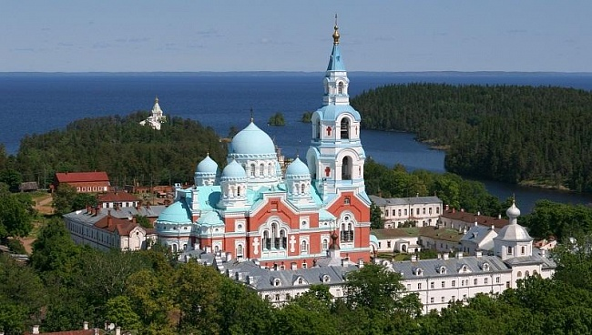Vaalam in Karelia Russia
